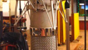 Im Studio   Der Gesang