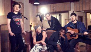 Die Schweizer Band Baba Shrimps veröffentlichen den Song Souvenir gemeinsam mit Sandi Morris und Noah Lyles